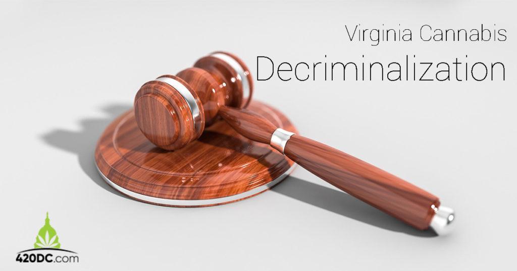 Virginia may decriminalize cannabis in 2020
