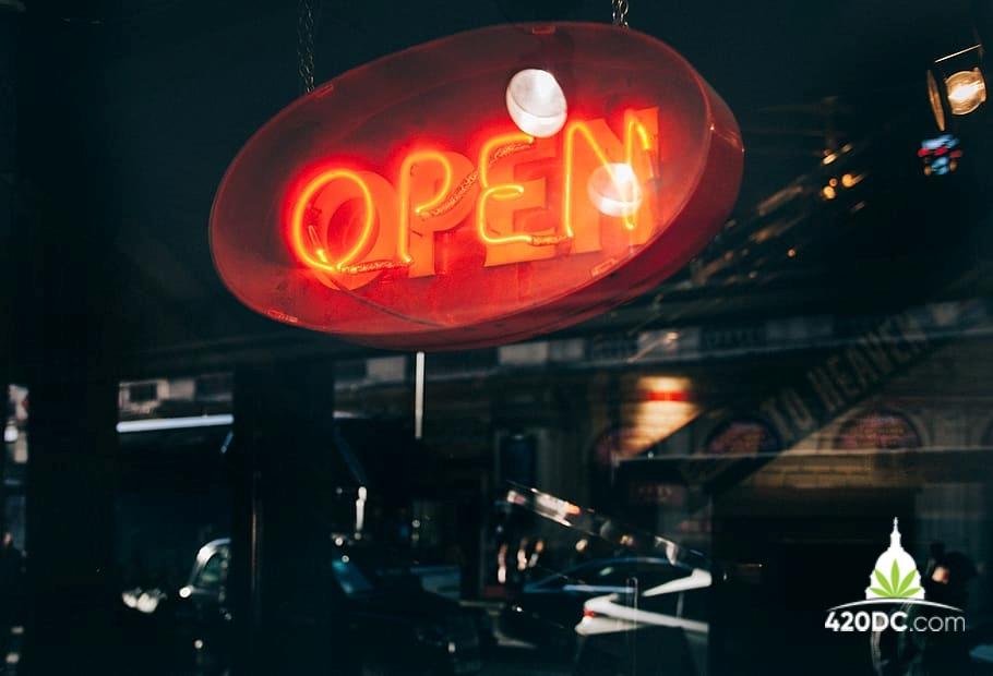 Cannabis Shop, Dispensary, Open, DC