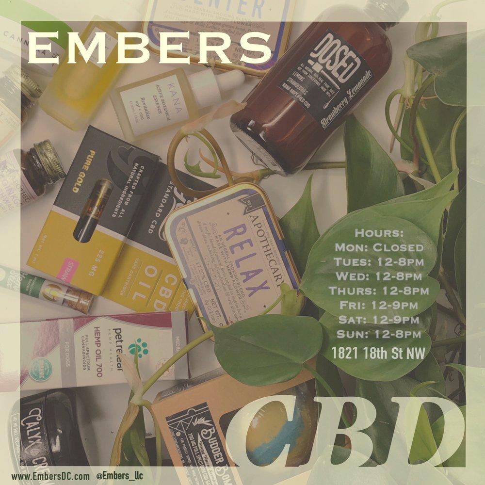 Embers DC smoke shop