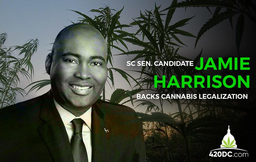 Jaime Harrison Backs Cannabis Legalization