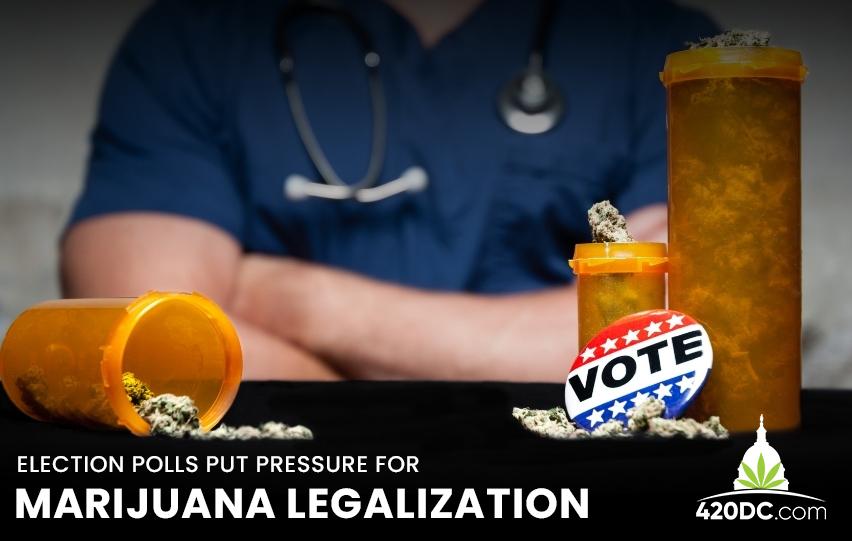 Marijuana Legalization Election Polls