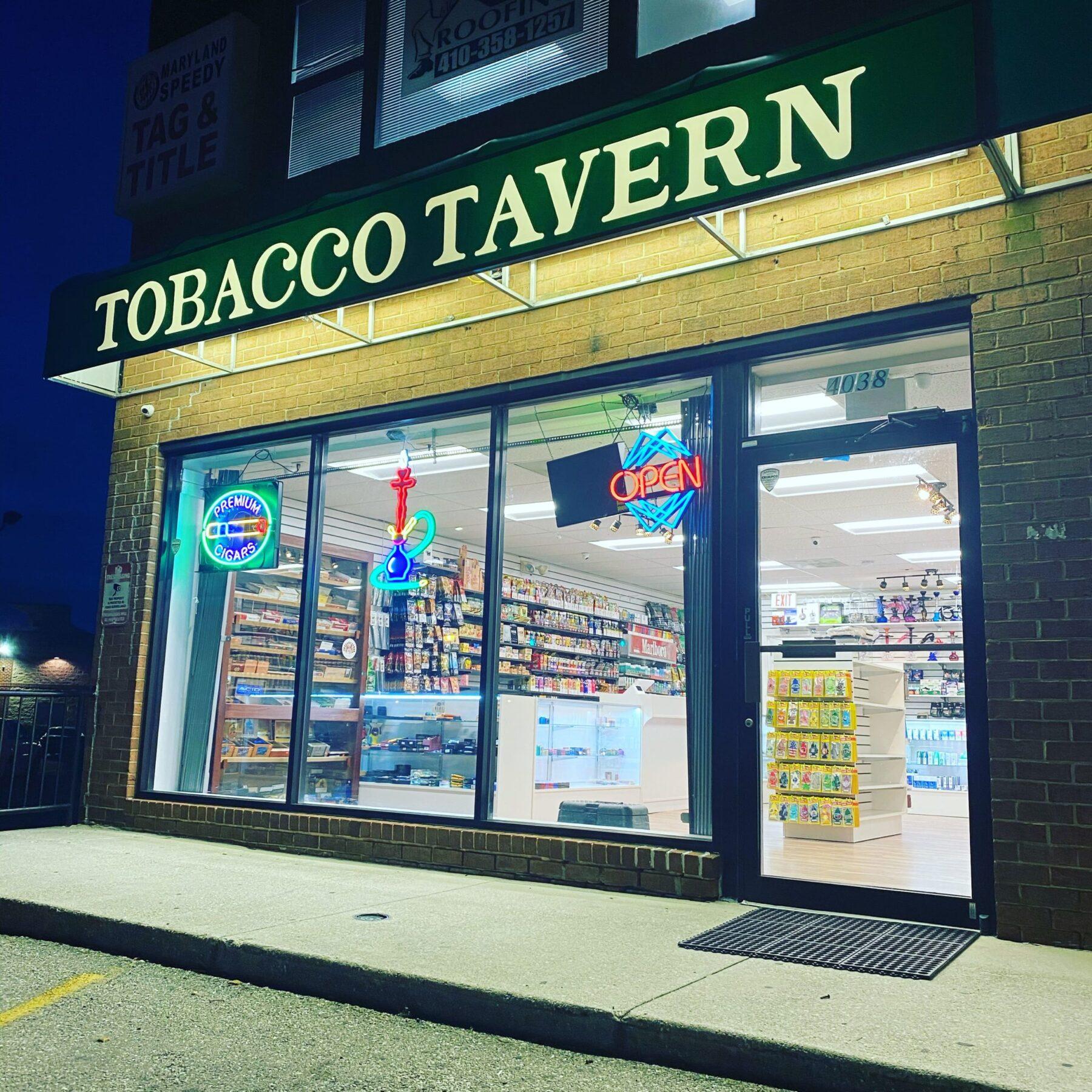 Baltimore Smoke Shops
