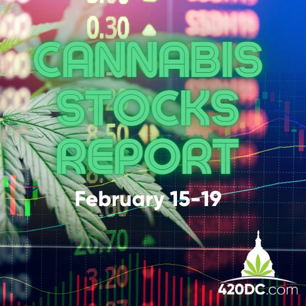 Cannabis Stocks Report - February 18 - 420DC.com