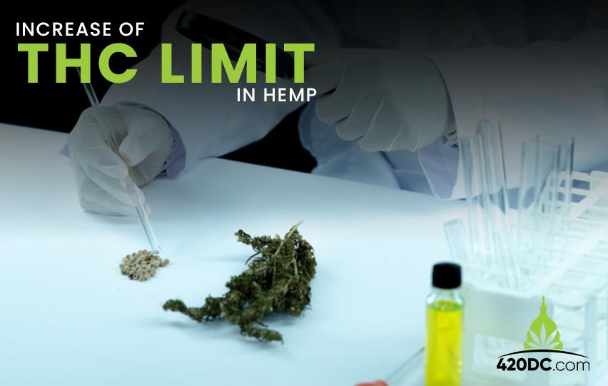 Senator Seeks to Increase THC Limit in Hemp