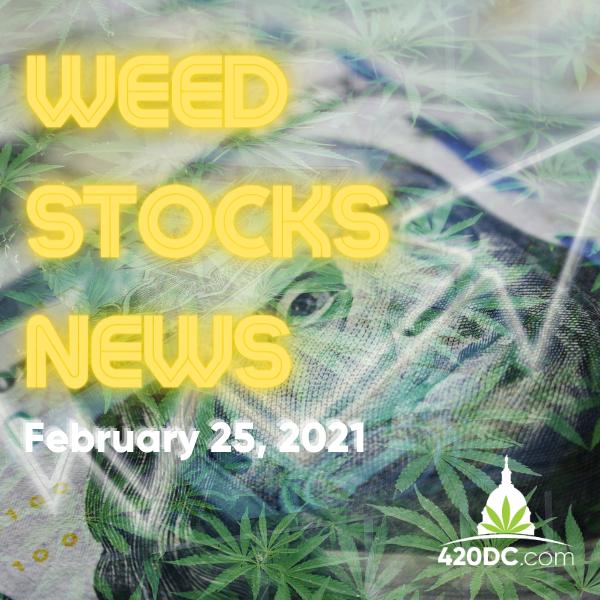 Hot Pot Stocks - GFebraury 25, 2021 - 420DC.com