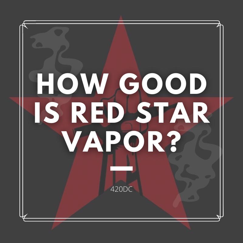 red star vapor