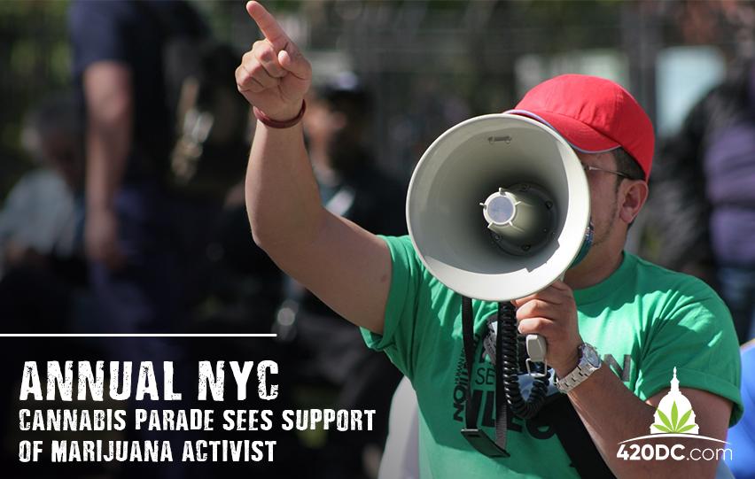 NYC Cannabis Parade Sees Support of Marijuana Activists