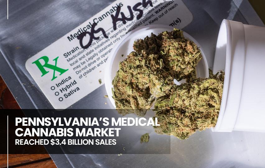 s Medical Cannabis Market Reached $3.4 Billion Sales