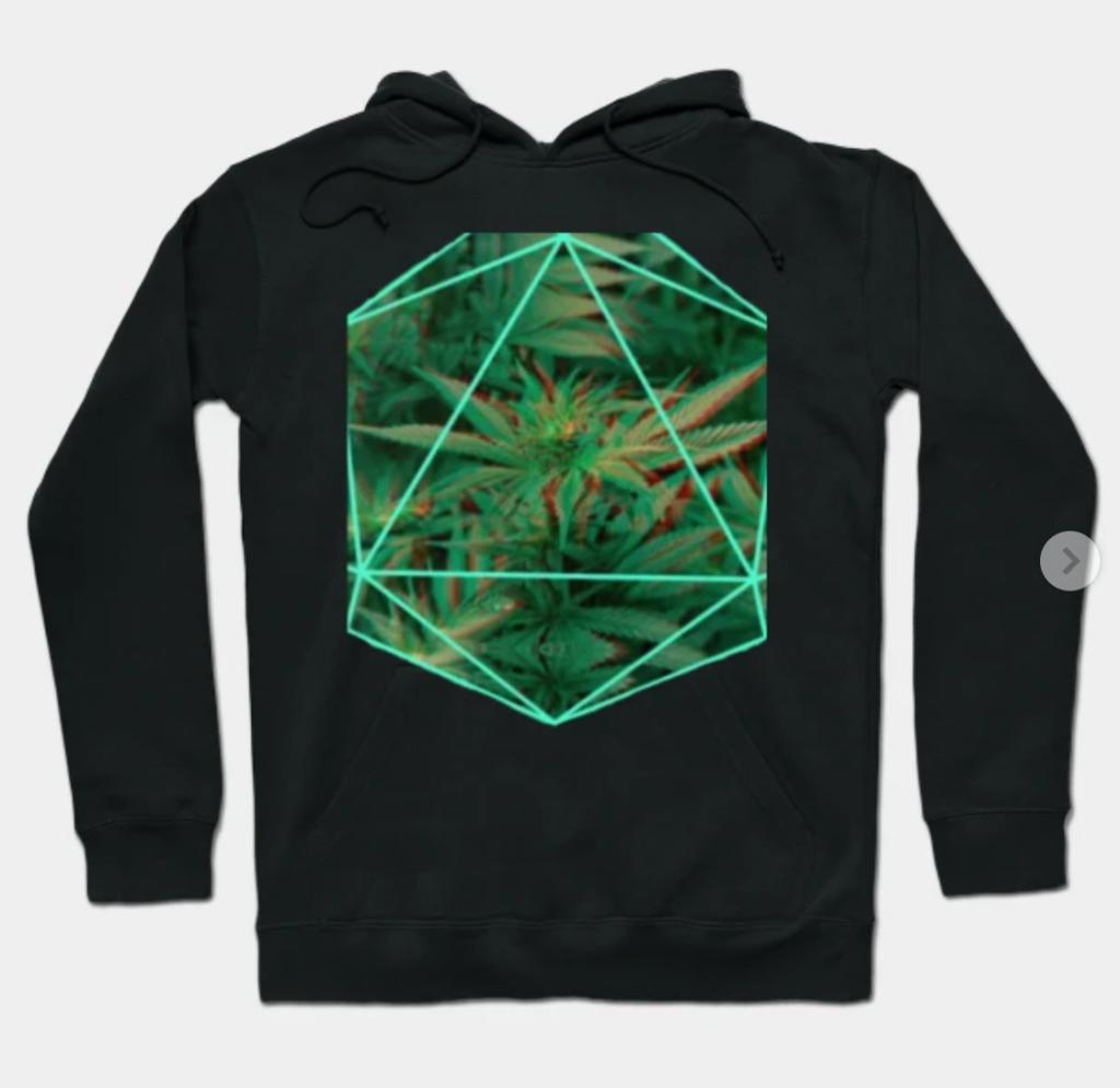 weed hoodie
