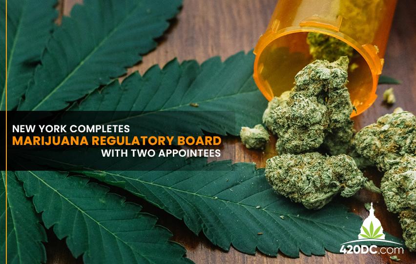 New York Completes Marijuana Regulatory Board